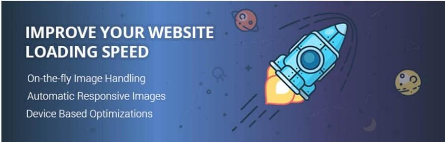 The Optimole WordPress plugin.