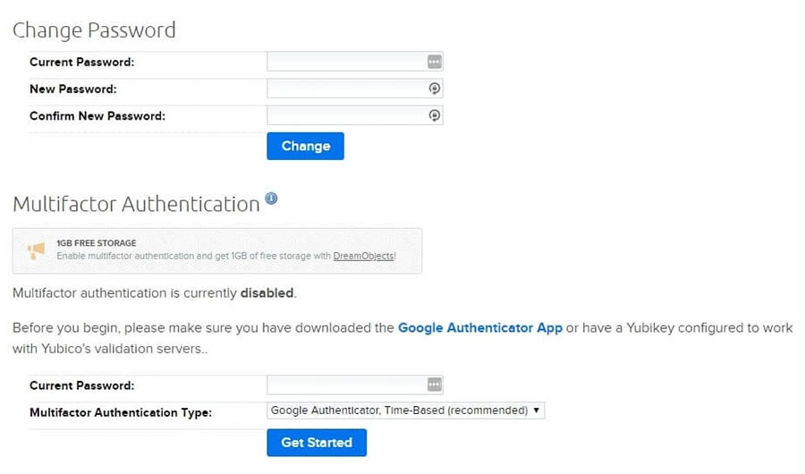Updating your password and enabling multifactor authentication.