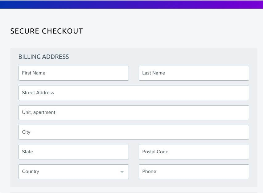 DreamHost's secure checkout.